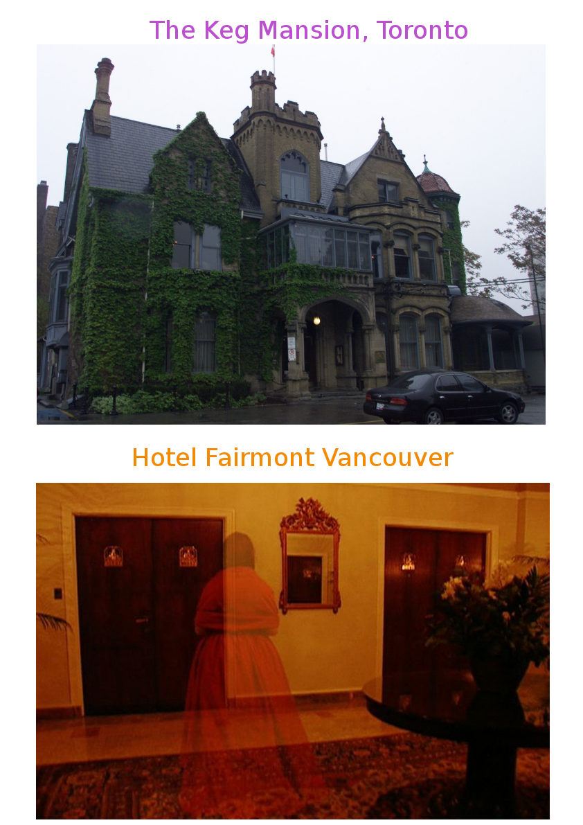 Canada S Most Haunted Places O Canada