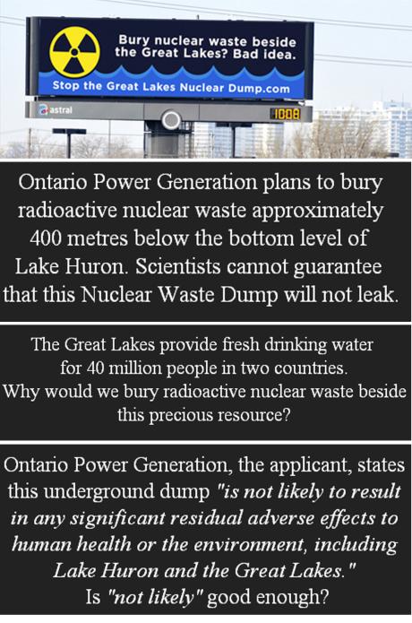 Lake Huron Nuclear Waste Dump 1