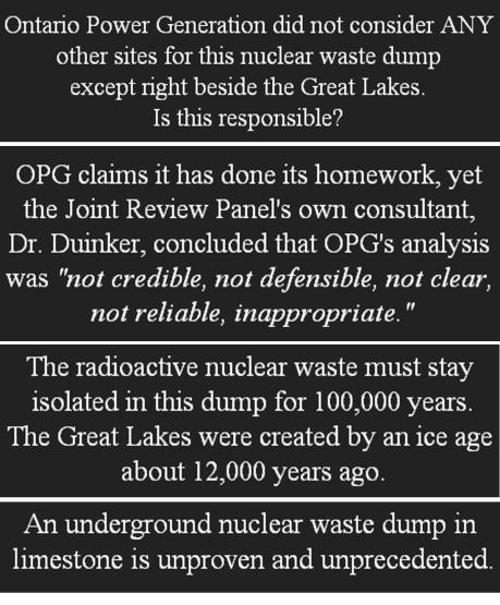 Lake Huron Nuclear Waste Dump 2