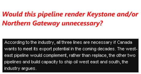 West East Pipeline 12