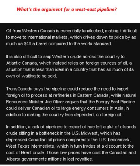 West East Pipeline 3