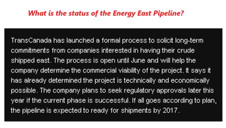 West East Pipeline 4
