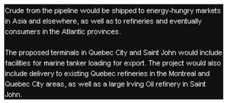 West East Pipeline 8